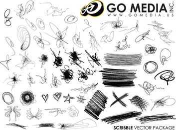 Go Media Produced Vector The Trend Of Messy Lines