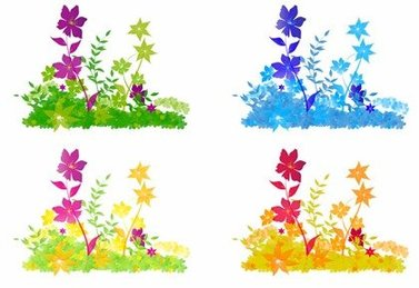 Free Vector Flower Patch
