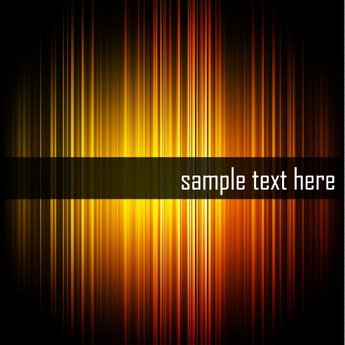 Abstract Glowing Hi-Tech Stripe Background (Free)
