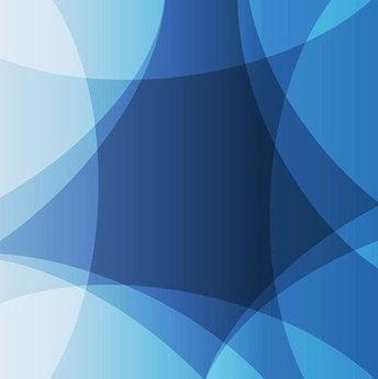 Abstract Design Blue Background