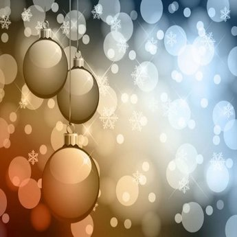 Abstract Bokeh Background Christmas
