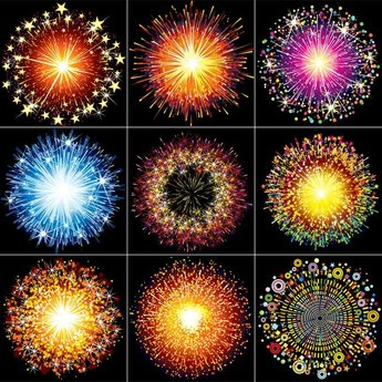Colorful Fireworks 02