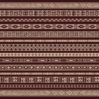 Rich Ethnic Seamless Pattern Background