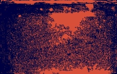 Grungy Orange and Blue Textures