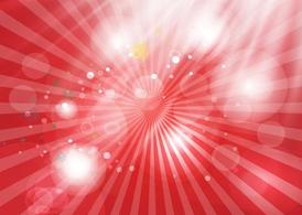 Shining Red Background