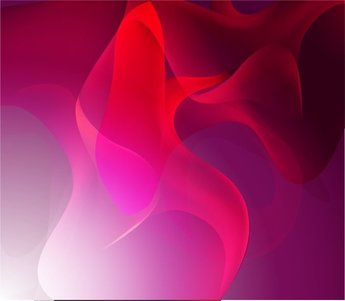Elegant Red Pink Abstract Background