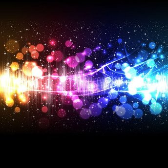 Colorful lighting background