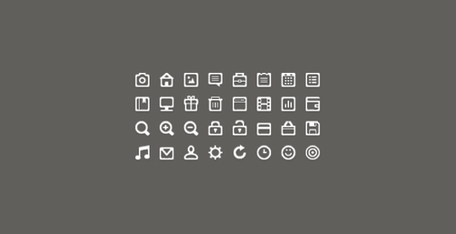 Mini Icon Set