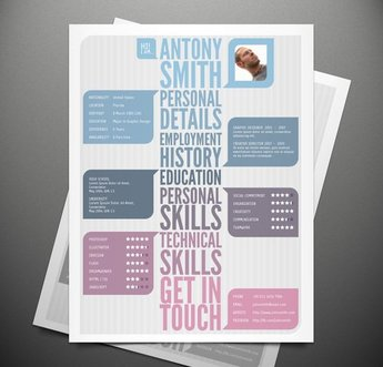 Creative Resume Template Vol 1