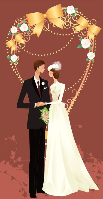 Wedding Vector Graphic 33