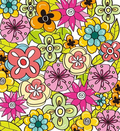 Flower Background for Design