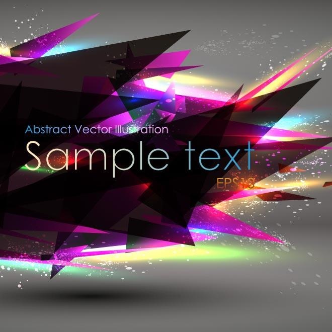 COLORFUL TRANSLUCENT BACKGROUND VECTOR.eps