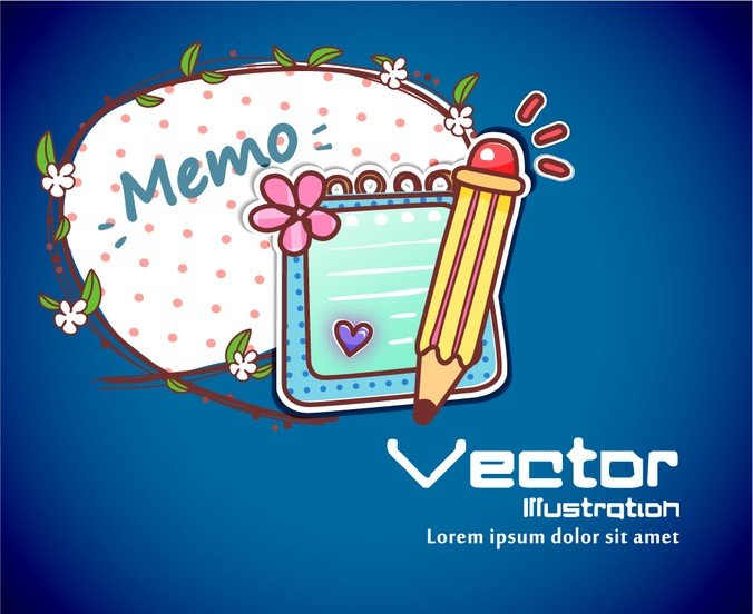 Cartoon Label Background