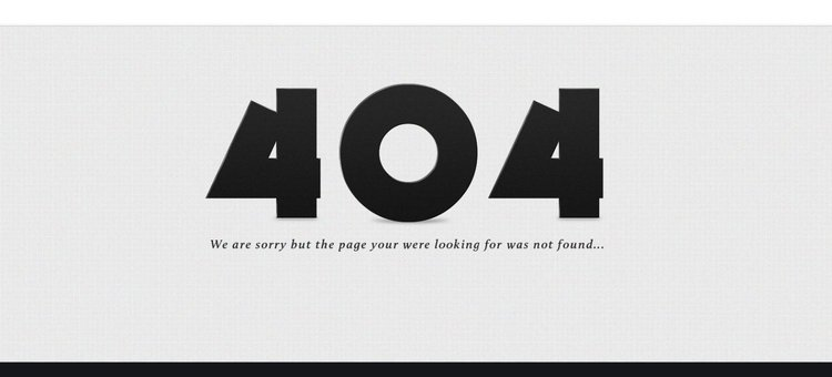 Free 404 Error Page Psd Template Files Vectors Graphics 365psd