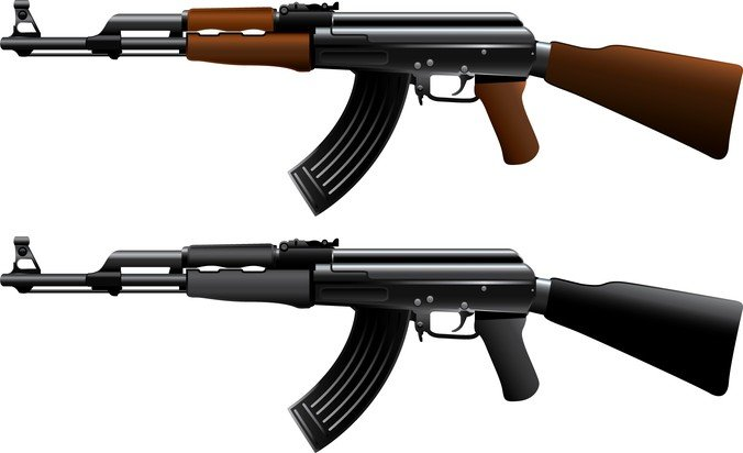 free ak47 machine gun psd files vectors graphics 365psd com rh 365psd com ak47 vector free ak47 vector