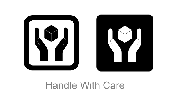 Free Handle With Care Symbol Vector Art Free Psd Files Vectors