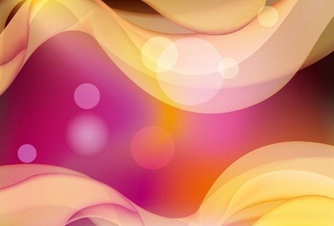 Abstract Colored Bokeh Background