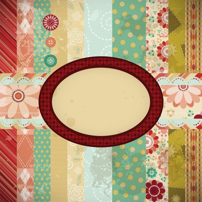 Patchwork Pattern Background
