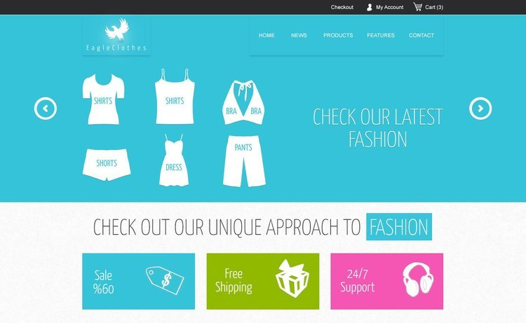 Mercor Free Ecommerce Website Template