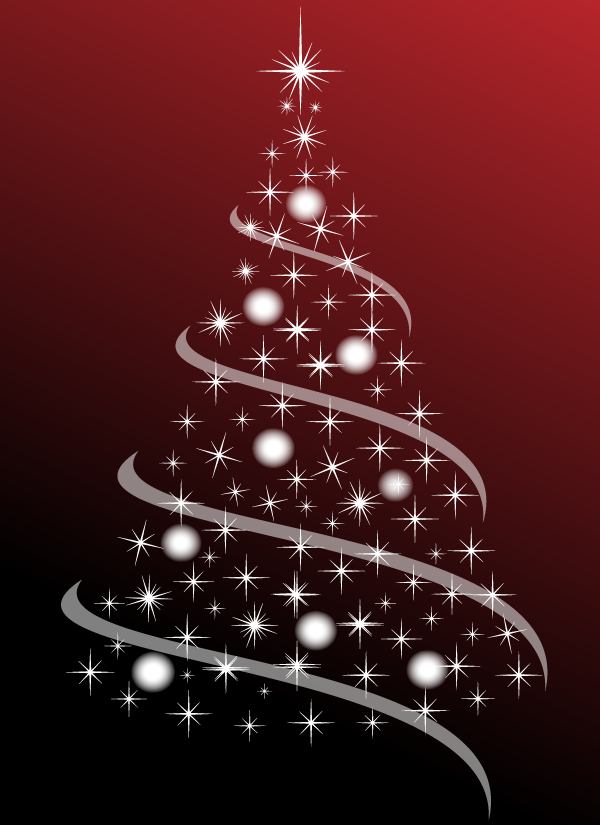 Free Christmas Tree Abstract PSD Files Vectors Graphics