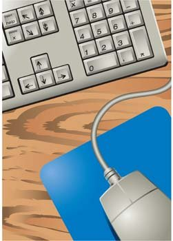 Computer Mouse Vector 13