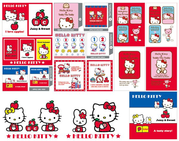 hello kitty official Vector 5/15/38 / 57