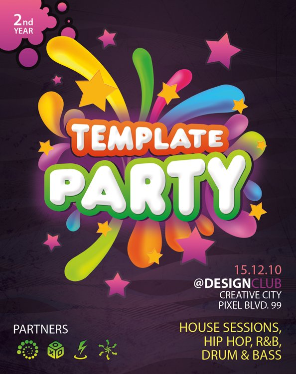 Free PSD Flyer Template vector files 365PSD – Free Templates Flyer