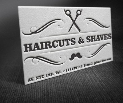 Free vintage barber shop business card psd files vectors graphics free vintage barber shop business card psd files vectors graphics 365psd reheart Image collections