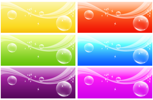 Free Vector Banner Background, vector file - 365PSD.com