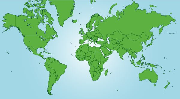 Free world map vector free download psd files vectors graphics 1 gumiabroncs Choice Image