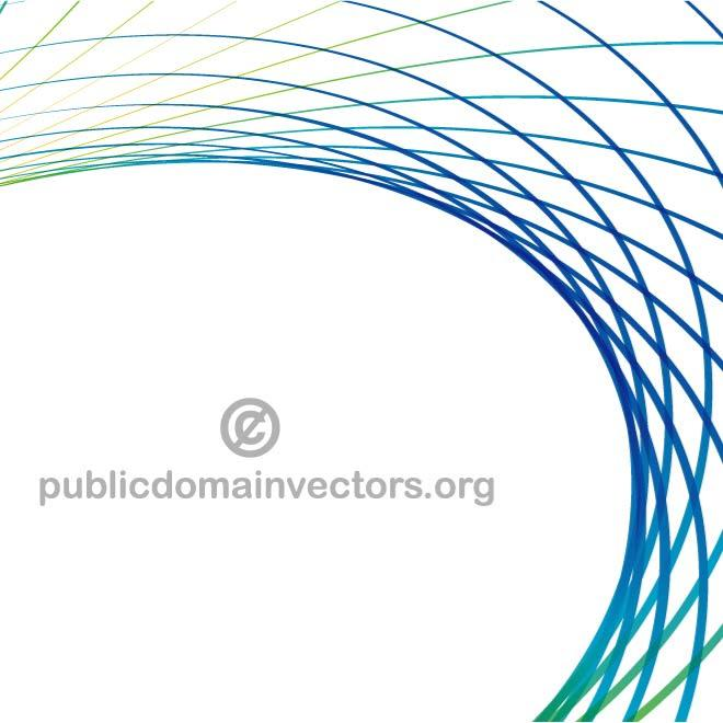curved blue lines vector design.eps, vector graphics - 365psd