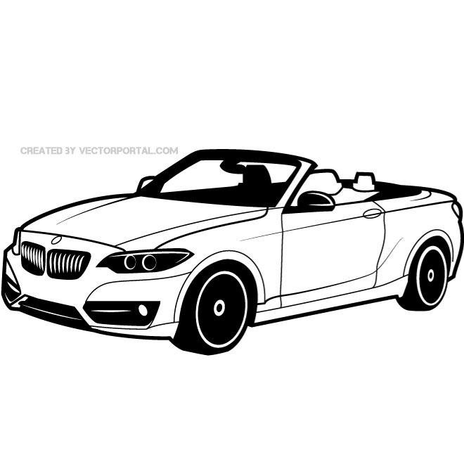 Free Bmw Vehicle Vector Drawingeps Psd Files Vectors Graphics