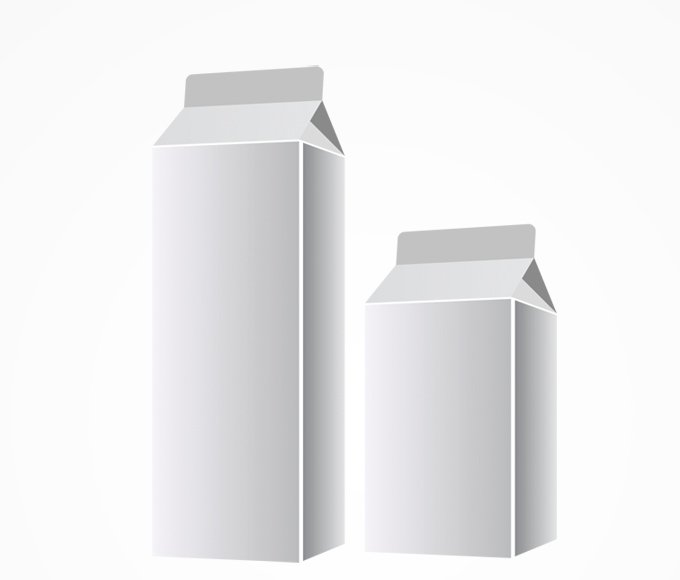Graphismes Vectoriels Et Fichiers Psd Blank Milk Packaging Vector