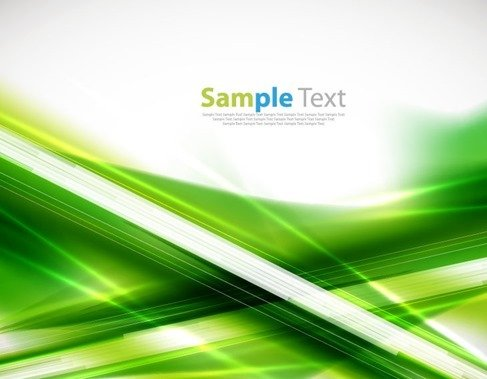 Abstract Green Background Vector Illustration 4