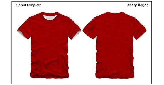 Free T Shirt Template Front And Back PSD Files Vectors Graphics