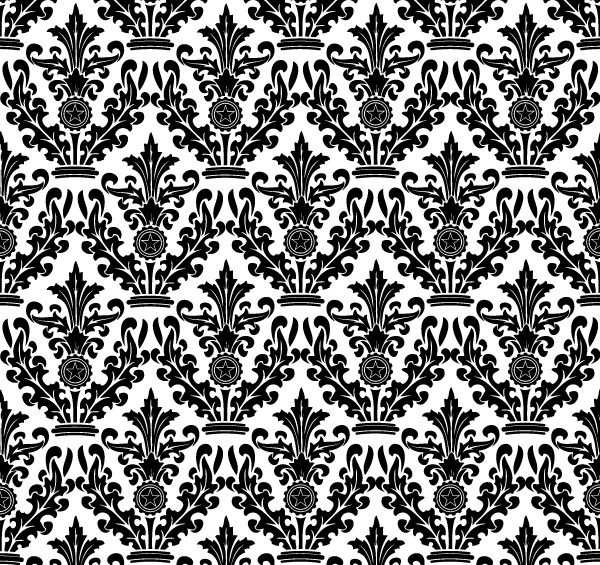 Free Damask Floral Pattern PSD Files Vectors Graphics