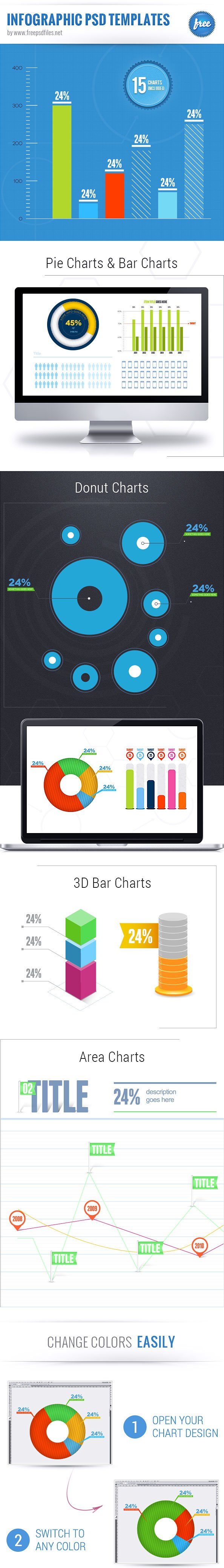Free Infographic PSD Templates PSD files, vectors & graphics ...