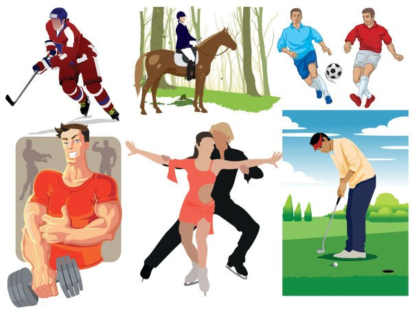 Sports figures