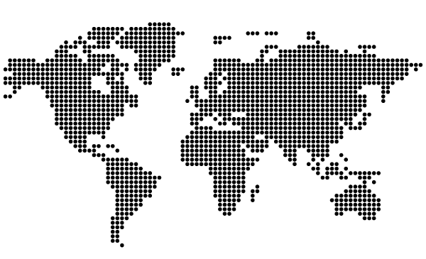 Free Free Dotted World Map PSD files, vectors & graphics - 365PSD.com