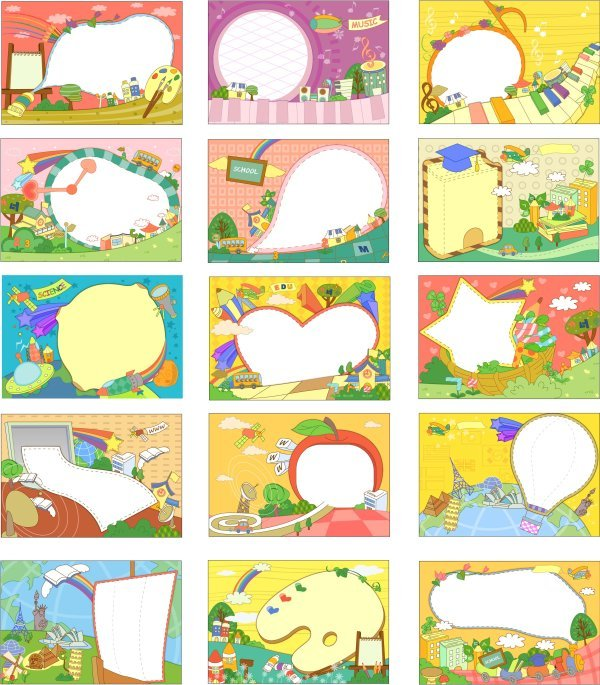 Large collection of cartoon fantasy material Korea (seventy