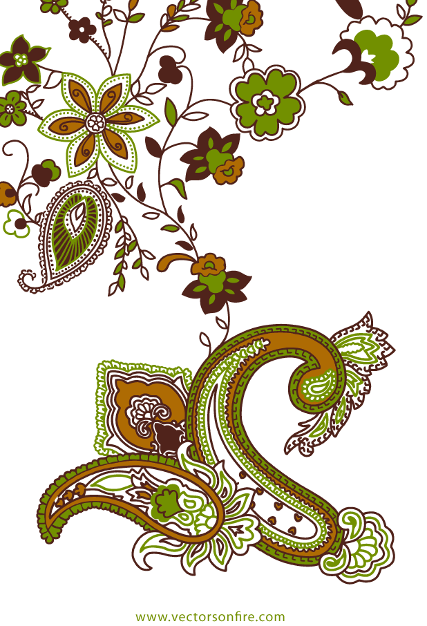 Paisley Vector Graphic by Pien