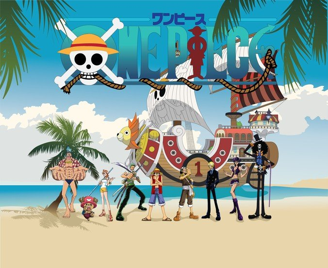Vector One Piece Straw Hat Pirates Family Portrait
