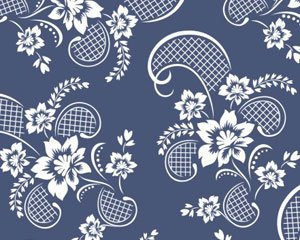 Vector floral pattern, vector graphics - 365PSD.com