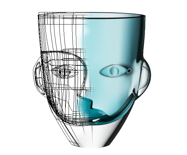 Vector Face Cup