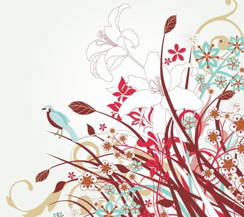 Free Floral Vector Art