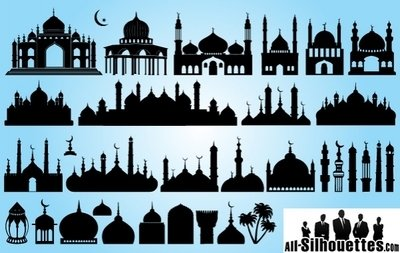 Silhouette Islamic Mosque Pack