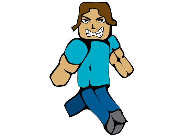 Free mc man minecraft steve psd files vectors graphics 365psd stopboris Gallery