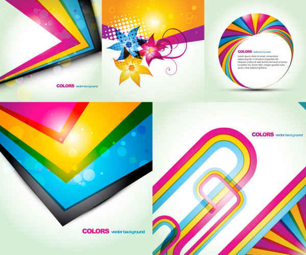 The fashion color background