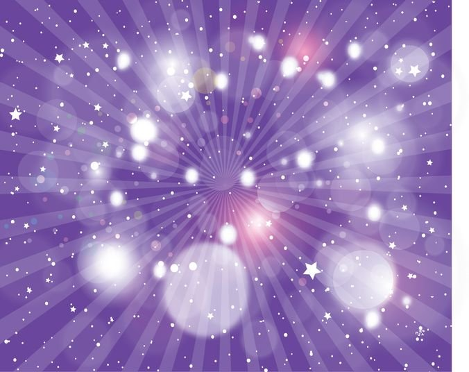 Abstract light Vector Purple Backgr