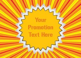 Promotion Vector Sticker